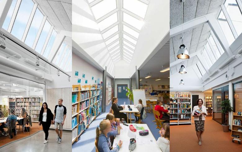 skylights in schools compilation
