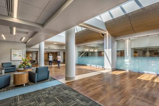 Healthcare Atrium with Natural Light