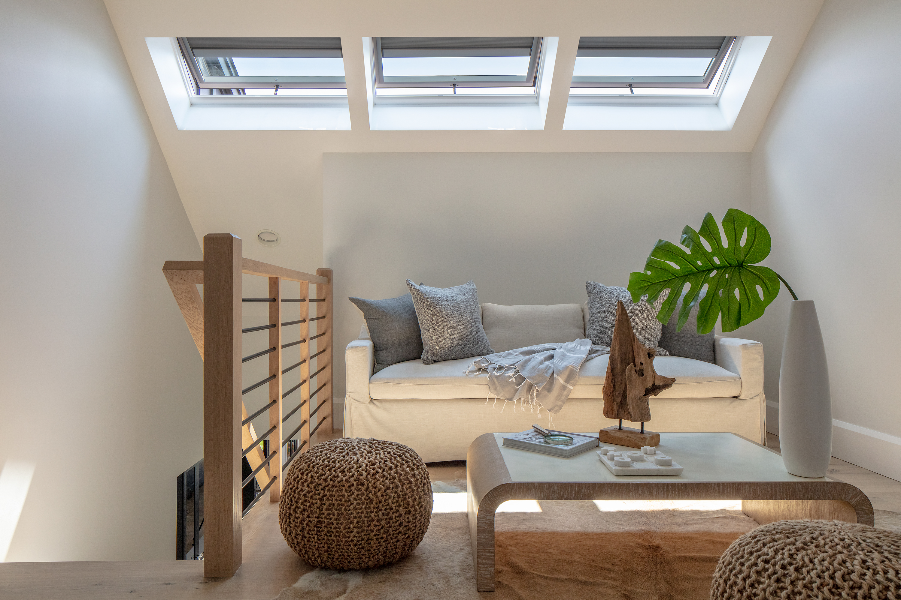 Skylights in Converted Loft Space