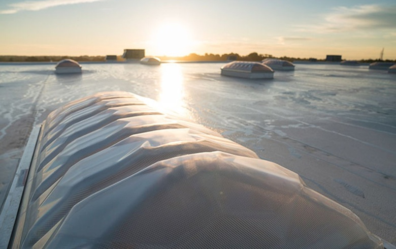 VELUX Dynamic Domes in the Sunrise